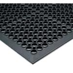 "T14 Tek-Tough Jr.® General Purpose Floor Mat, 3′ x 5′, 1/2"" thick, rubber"