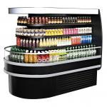 "Island Display Self-Serve Refrigerated Merchandiser, 20 cu. ft. capacity, 48""W x 61.9""D"