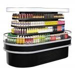 "Island Display Self-Serve Refrigerated Merchandiser, 28.8 cu. ft. capacity, 48""W x 96""D"