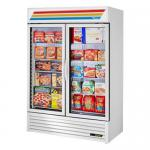 Freezer Merchandiser, two-section, True standard look version 01, -10° F, (