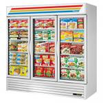 Freezer Merchandiser, three-section, True standard look version 01, -10° F, &#4