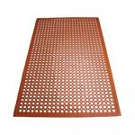 "Floor Mat, 3′ x 5′ x 1/2"" thick, rolled, anti-slip, anti-fatigue, beveled edges"