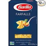 Case is 2-160 OUNCE Barilla Farfalle Pasta  160 Ounces - 2 per Case