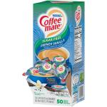 Case is 4-.374 FLUID OUNCE NESTLE COFFEE-MATE Coffee Creamer Sugar-Free French Vanilla Flavor
