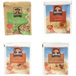 Case is 1-5.54 Quaker Instant Oatmeal Food Service Variety Pack  Maple Brown 20 -1.51 ounce  Apple