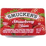 Case is 200-.5 OUNCE SMUCKER 1/2 OUNCE STRAWBERRY JAM PLASTIC SMUCKER 1/2 OUNCE STRAWBERRY JAM