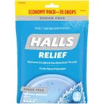 Case is 12-70 COUNT Halls Sugar Free Menthol Lyptus Mountain Cough Drops  70 Count - 12 per Case