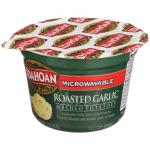 Case is 12-4 OUNCE Idahoan Roasted Garlic Mashed Potatoes 4oz pouch
