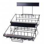 Airpot Rack, countertop, holds (6) airpots, double level, fits APSK-, APSP- & AP- series